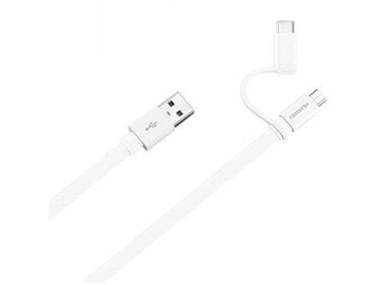 Huawei AP55S kabel microUSB a USB-C AP55S bílý