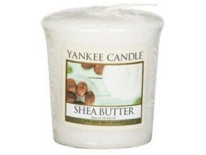 Yankee Candle Votivní svíčka Shea butter 49g