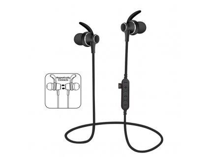 Platinet PM1060B sportovní bluetooth sluchátka s microSD, černá