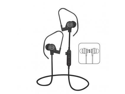 Platinet PM1062B sportovní bluetooth sluchátka s microSD, černá