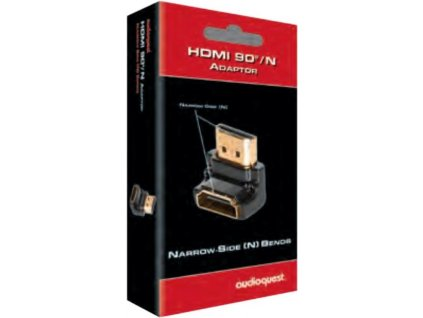 Audioquest HDMI adaptér 90°N (zahnutý dolů)