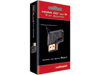 Audioquest HDMI adaptér 90° Nu/R (otočený vpravo)