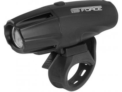 FORCE světlo přední SHARK-700  USB černé