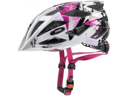 UVEX Air wing white-pink (52-57cm)