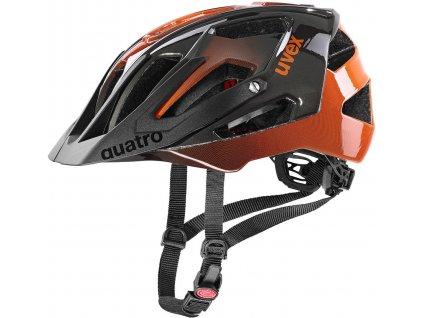 UVEX Quatro titan/orange (52-57cm)