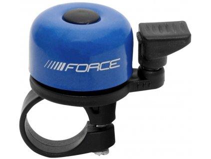 zvonek Force Mini Fe/plast 22,2mm paličkový, modrý