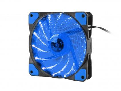 GENESIS ventilátor Hydrion 120, modré LED, 120mm