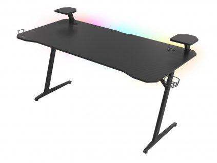 Genesis Holm 510 RGB - herní stůl s RGB podsvícením