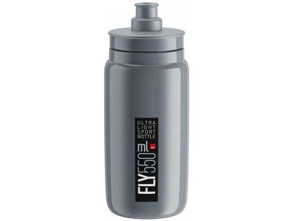 Elite Fly, 550ml - šedá/černé logo