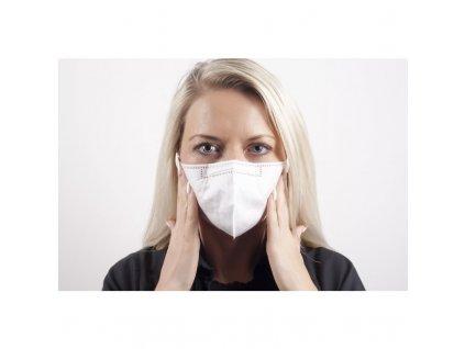 Royax Medical - respirátor FFP2 vel.M - Certifikovaný CE 0068 - 5ks
