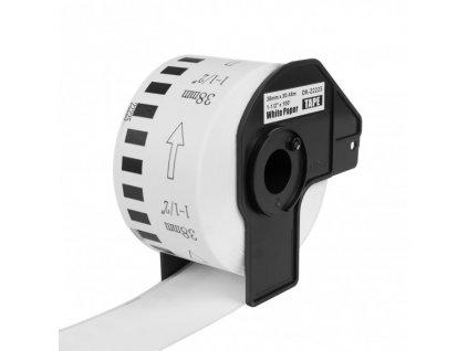 PRINTLINE kompatibilní s Brother DK-N55224, bílá papírová role, nelepící 54 x 30,48m
