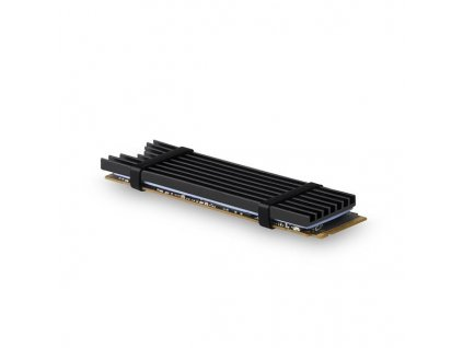 AXAGON CLR-M2L3, hliníkový chladič pro M.2 2280 SSD, 3mm