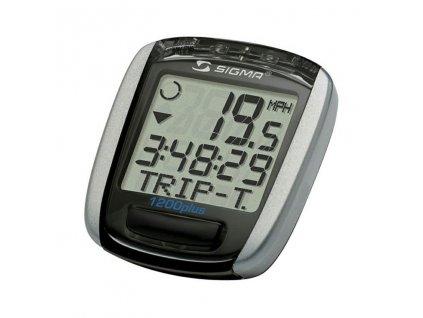 SIGMA Baseline 1200 wireless - stříbrná/černá
