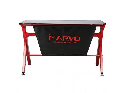 Marvo - Herní stůl DE-03, RGB podsvícení