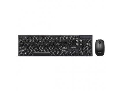 Marvo bezdrátová klávesnice s myší DCM002WE, US