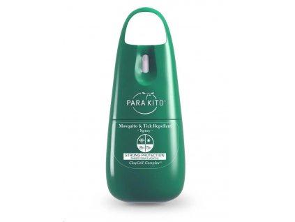 PARA'KITO sprej pro silnou ochranu proti komárům a klíšťatům, zelený