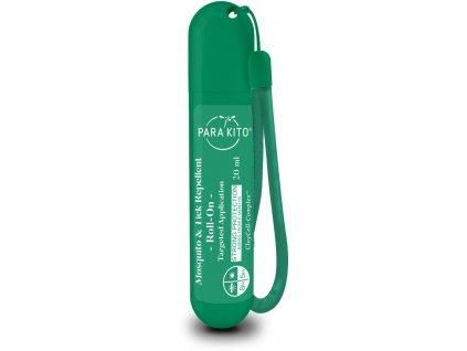 PARA'KITO roll-on pro silnou ochranu proti komárům a klíšťatům, zelený