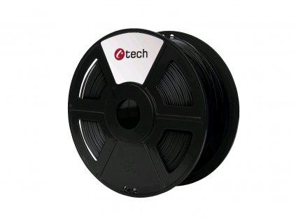 C-TECH filament ABS 1.75mm 1kg, černá