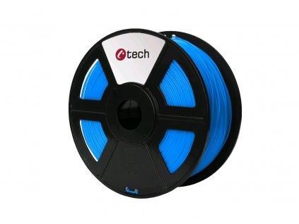 C-TECH filament ABS 1.75mm 1kg, modrá