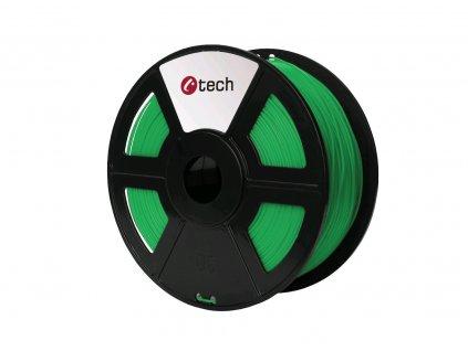 C-TECH filament ABS 1.75mm 1kg, zelená