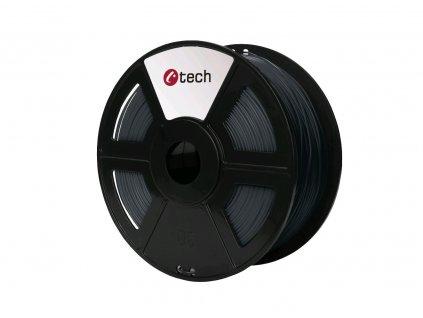 C-TECH filament ABS 1.75mm 1kg, šedá
