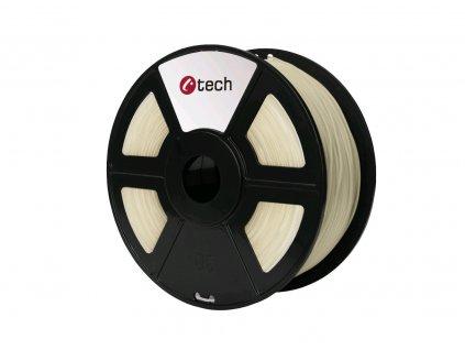 C-TECH filament ABS 1.75mm 1kg, transparentní