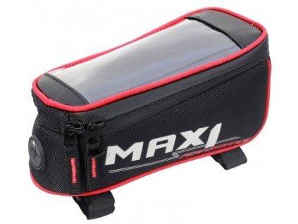 brašna na rám MAX1 Mobile One červeno/černá
