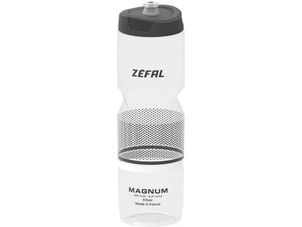 Zefal lahev Magnum soft cap průsvitná