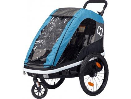 Hamax Avendia ONE - petrol blue - vozík za kolo