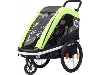 Hamax Avendia ONE - lime - vozík za kolo