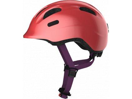 ABUS Smiley 2.1 - sparkling peach - vel. M - dětská helma
