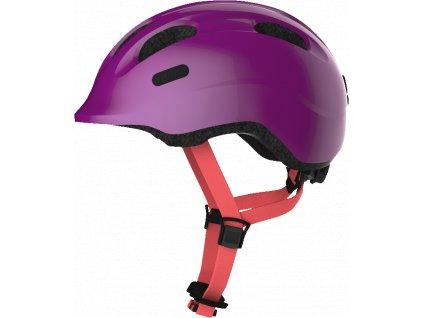 ABUS Smiley 2.1 - sparkling plum - vel. M - dětská helma