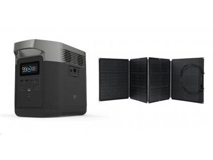 EcoFlow DELTA + solární panel 110W (1ECO1300C)