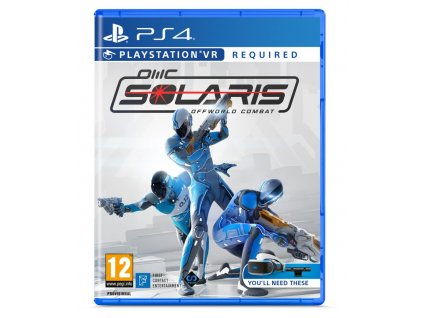 PS4 - Solaris: Off World Combat VR