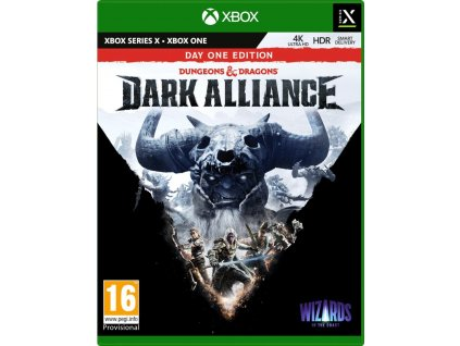 Xbox One / X - Dungeons & Dragons Dark Alliance Day One Edition