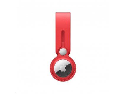 APPLE AirTag kožené poutko Product RED (mk0v3zm/a)