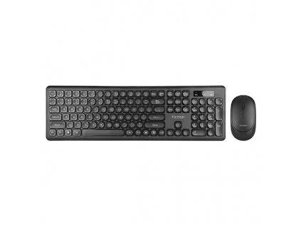 Marvo bezdrátová klávesnice s myší DCM003WE, US