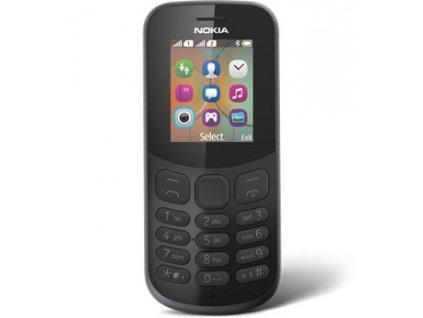 Nokia 130 2017 černý