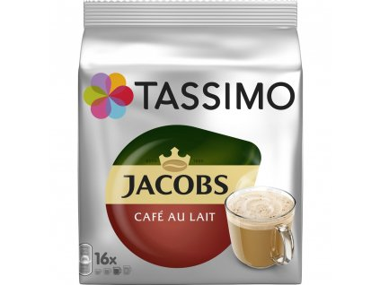 Tassimo Jacobs Cafe Au Lait 16 nápojů