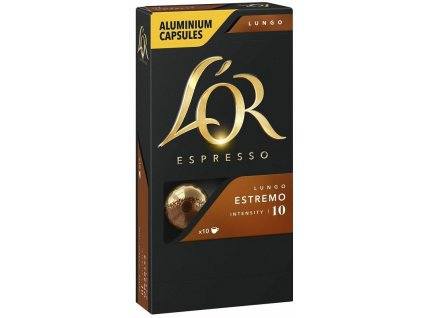 L'OR Lungo Estremo 10 ks kapsle pro Nespresso