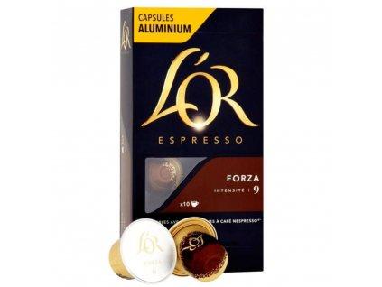 L'OR Forza 10 ks kapsle pro Nespresso