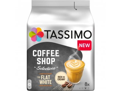 Tassimo Flat White 8 nápojů