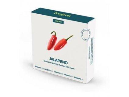 Tregren Chilli papričky Jalapeno (kapsle se semeny, 4 ks)