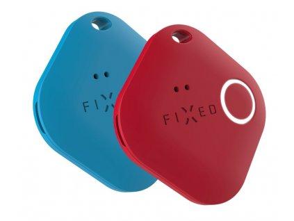Fixed smart tracker Smile PRO, Duo Pack - modrý + červený