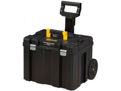Stanley TSTAK hluboký box na kolečkách a teleskopickou rukojetí