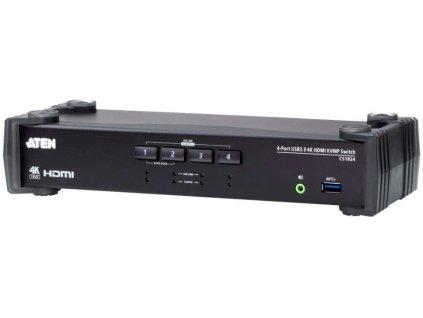 ATEN 4-port USB3.0 4K HDMI KVMP, audio
