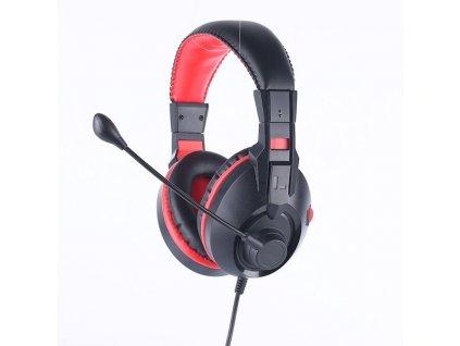 Herní sluchátka Marvo HG8321S s mikrofonem, ovládání hlasitosti, černá