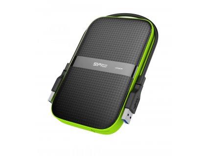 Silicon Power Armor A60 2TB černo-zelený