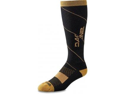 Dakine Berm Bike Tall Socks Black/Tan S/M