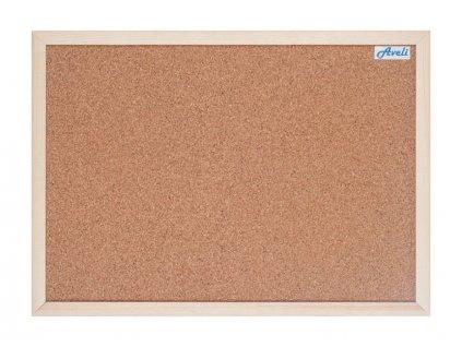Aveli korková tabule 60x90 cm, dřevěný rám